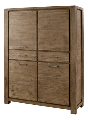 chambre meuble chambre armoire 4 portes 2 tiroirs utah le magasin d 39 usine de meubles. Black Bedroom Furniture Sets. Home Design Ideas