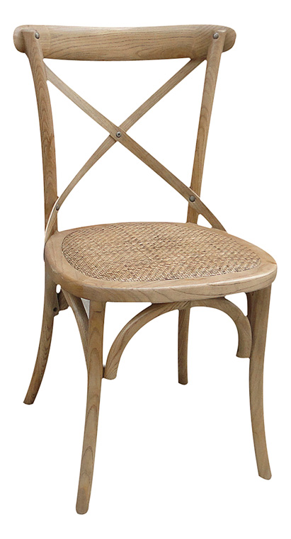 Chaise bistrot naturelle