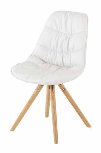 Chaise blanche Lotus