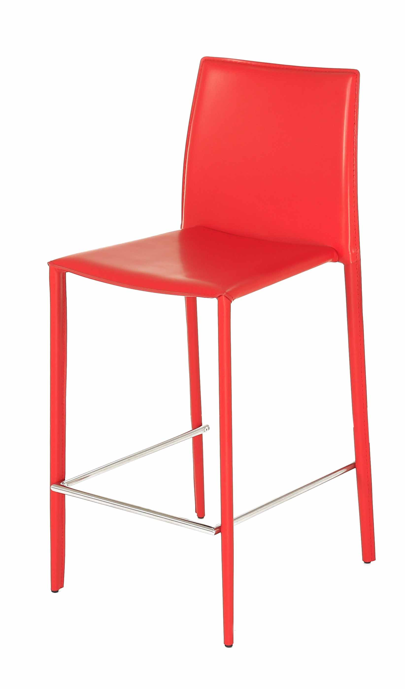Chaise de bar rouge cool lot de tabourets de bar rouge for Chaise fly rouge