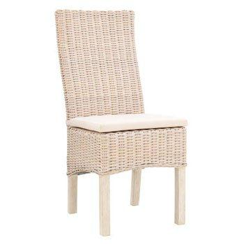 Coin repas chaises chaise en split blanc pieds tb gamme for Chaise kubu