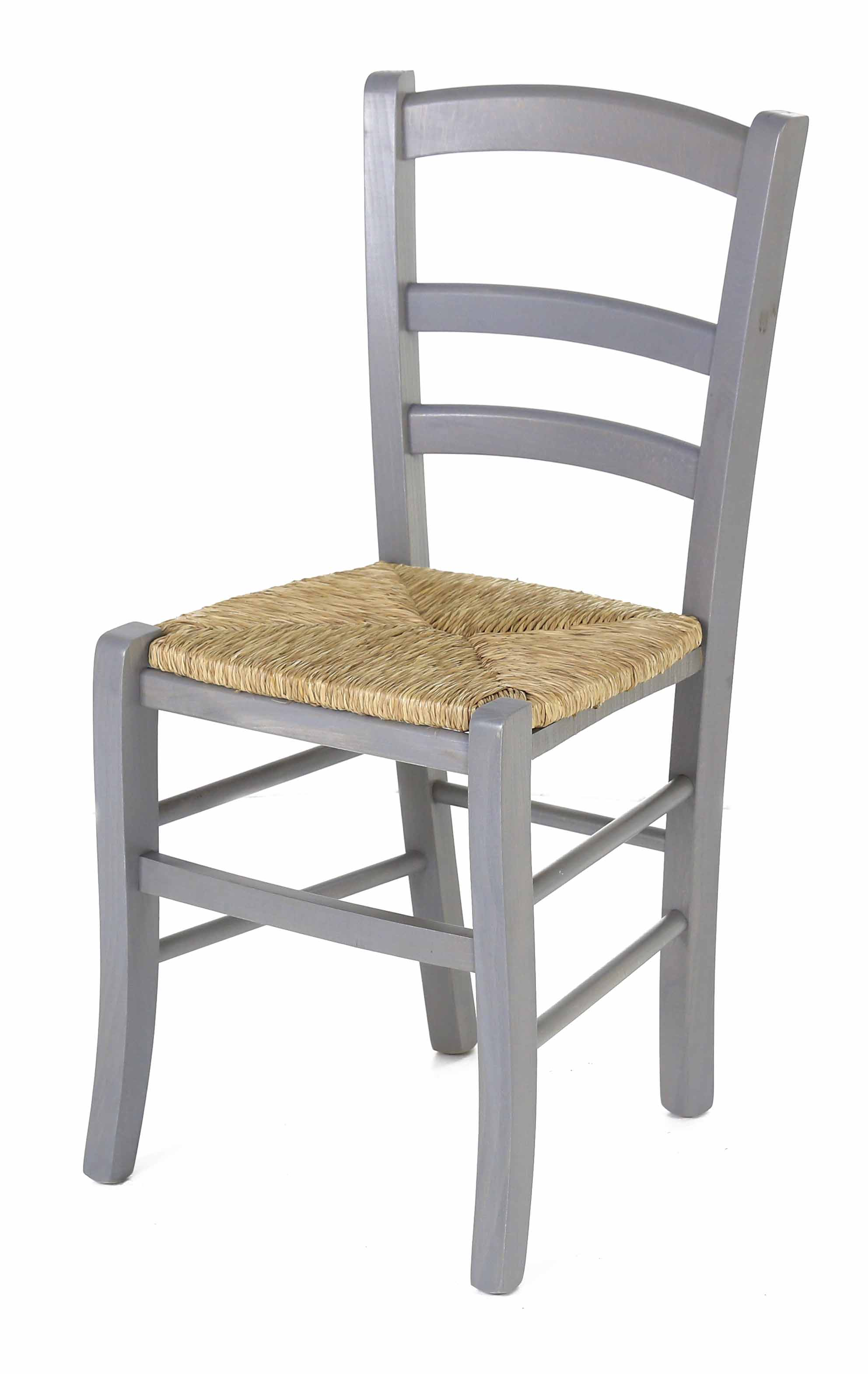 Coin repas chaises chaise h tre massif grise assise for Chaise sejour grise