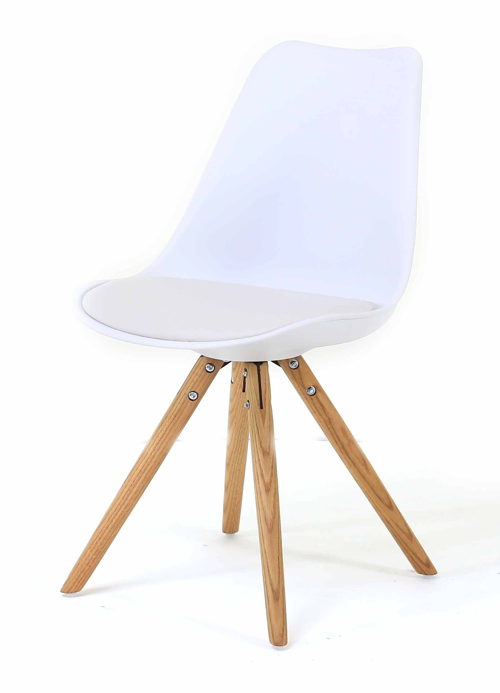 Chaise repas blanche Cross
