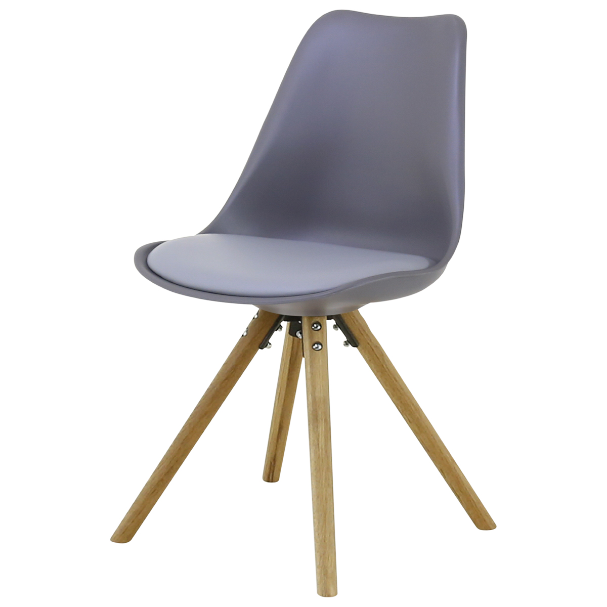 Chaise repas grise Cross
