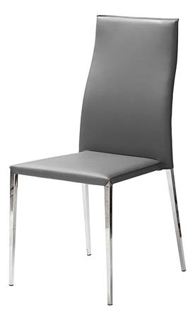 Coin repas chaises chaise repas grise paloma le for Chaise sejour grise