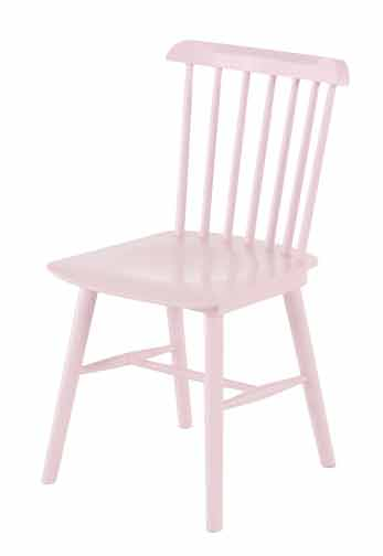 Chaise rose Oslo