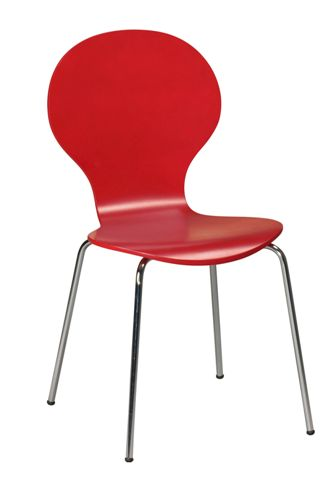 Chaise rouge Angel